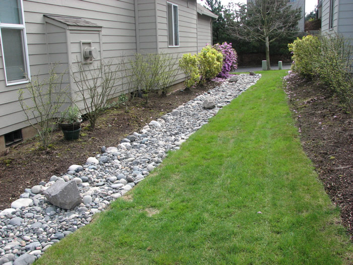 French Drain Installation in Warner Robins